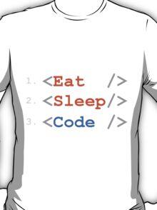 Eat. Sleep. Code. T-Shirt