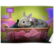 Happy Bunnies Poster