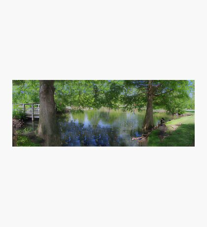 Small Town Park  Photographic Print