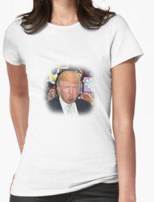 Donald Trump Shirt Womens Fitted T-Shirt