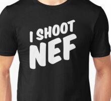 I shoot NEF Unisex T-Shirt