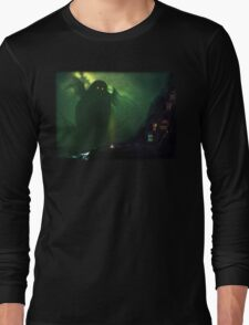 The Nearest Shore to R'lyeh Long Sleeve T-Shirt