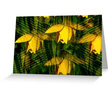 Kaleidoscopic Garden 6 Greeting Card