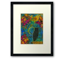 Mr. Who Framed Print