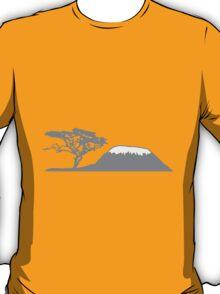 Africa tree mountain Kilimanjaro T-Shirt