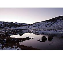 Spencers Creek - Winter Dusk 03 Photographic Print