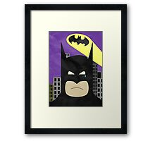Sad Hero Framed Print