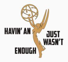 Childish Gambino - Havin' An Emmy, Version 2 [Outlined Award] by australiansalt