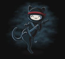 Ninja Cat by Stephanie Jayne Whitcomb