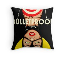 Bulletproof Throw Pillow