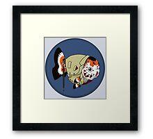 Goldfish Mycroft Holmes Framed Print