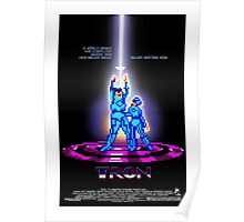 Tron the movie… the game Poster