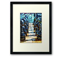 ©HS Tactic And Paint IAH Framed Print