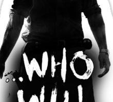 The Walking Dead Terminus - Rick Sticker