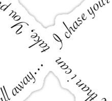 "Ellie Goulding ""Figure 8"" Sticker"