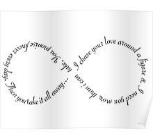 """Ellie Goulding """"Figure 8"""" Poster"""
