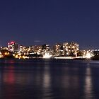 Sydney Harbour from Balmain East Wharf by Harry Roma