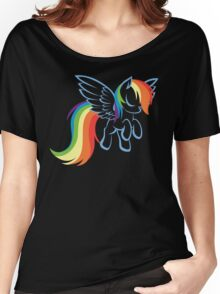 My Little Pony: Rainbow Dash Women's Relaxed Fit T-Shirt