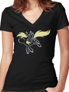 My Little Pony: Derpy Women's Fitted V-Neck T-Shirt