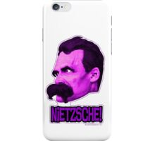 Nietzsche - Big Head Nietzsche! 2 iPhone Case/Skin