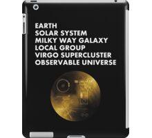 Cosmic Address iPad Case/Skin