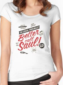 Better Call Saul! Women's Fitted Scoop T-Shirt