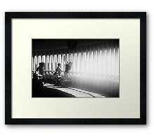 The Journalists Framed Print