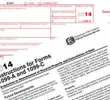 Form 1099c cancellation of debt by 1099advisor