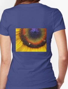 Sunflower, Seeds & Bees Womens Fitted T-Shirt
