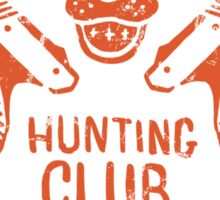 Duck Hunting Club Sticker