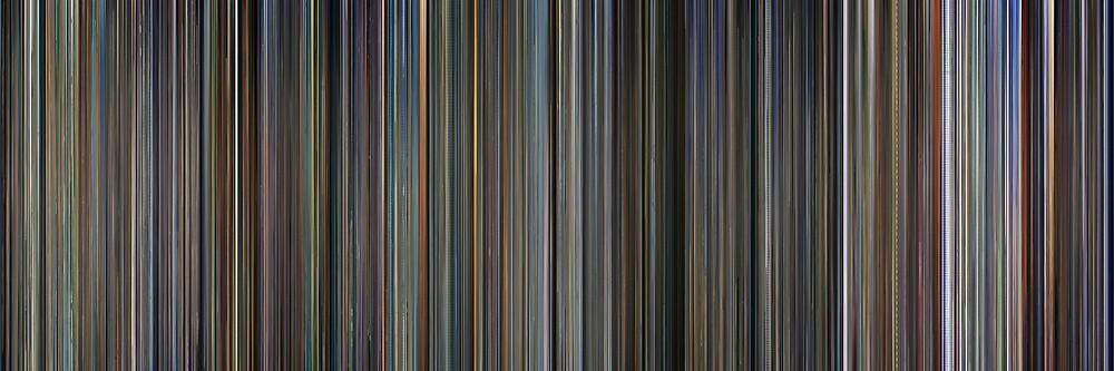 Moviebarcode: The complete Kaubôi bibappu: Cowboy Bebop (1998-1999) by moviebarcode