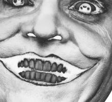 Jack Nicholson - Joker smile Sticker
