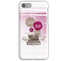 To Sherlock Holmes… iPhone Case/Skin