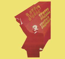 Vintage USSR Lenin Propaganda by kustom