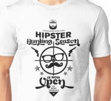 HIPSTER Hunting Season Unisex T-Shirt