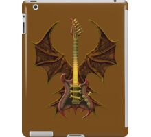 Brown Gothic Bat Guitar iPad Case/Skin