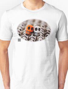 Orange And White T-Shirt
