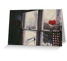 Cold day, cold hearts Greeting Card