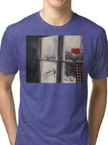 Cold day, cold hearts Tri-blend T-Shirt
