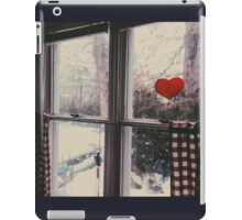 Cold day, cold hearts iPad Case/Skin