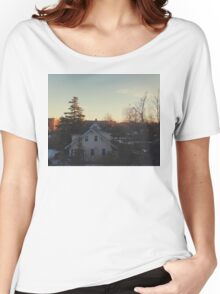 Wintry Morning Women's Relaxed Fit T-Shirt