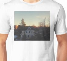 Wintry Morning Unisex T-Shirt
