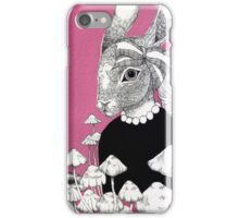 Pink Rabbit  iPhone Case/Skin