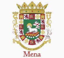 Mena Shield of Puerto Rico One Piece - Short Sleeve