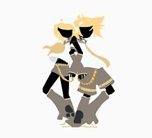 Kagamine Rin and Len Box Art Silhouette Unisex T-Shirt