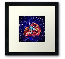 My Favorite Asteroid Framed Print