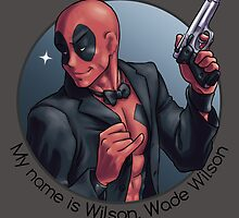 My name is Wilson, Wade Wilson by Valeocchiblu