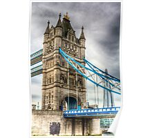 Tower Bridge and The Shard Poster