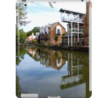 Converted Mill at Thames Lock on the River Wey iPad Case/Skin