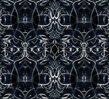 Fractal Space Pattern by DFLC Prints
